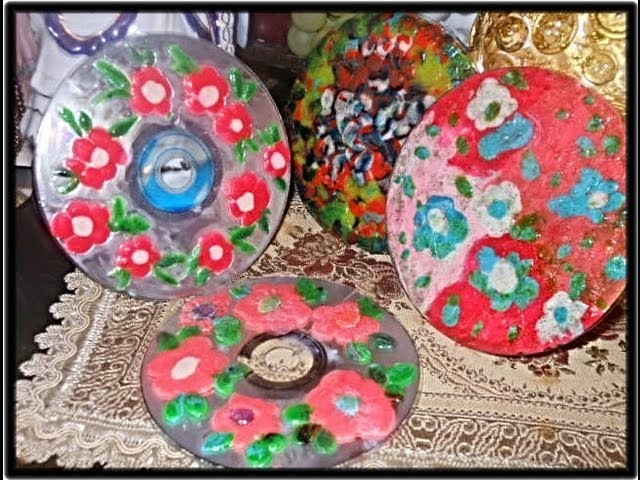 CD`s  and Clay Crafts ideas