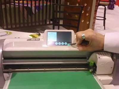 Cricut expression 2 demonstration for Craft Superstore in uk