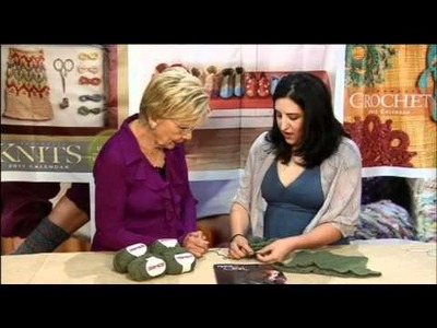 Designer Spotlight with Miriam Felton, from Knitting Daily TV Episode 604, Sponsored by WEBS