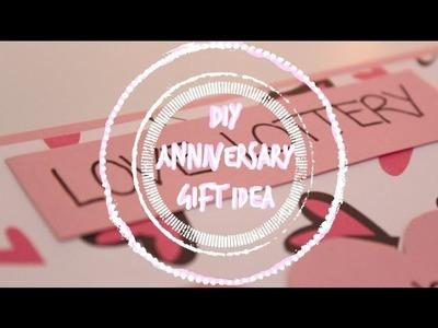DIY 1 Year Anniversary Gift Idea - stfusandi