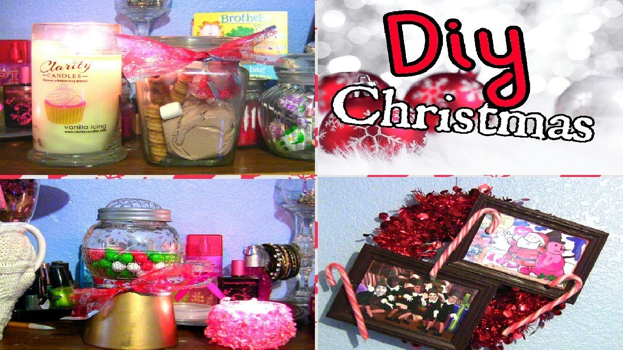 ❄DIY: 5 HoliDIY Christmas Gifts And Decorations!
