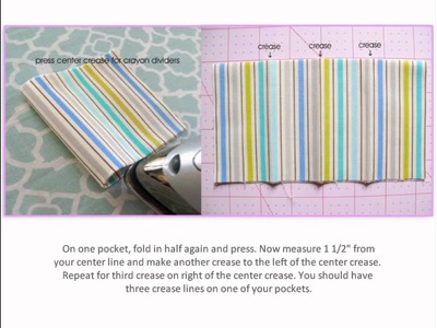 DIY Crayon Wallet Sewing Tutorial