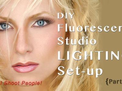 DIY Fluorescent Photography Studio Lighting - Part 1
