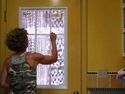 DIY French Window.Door. Portas.Janelas Francesas DIY.