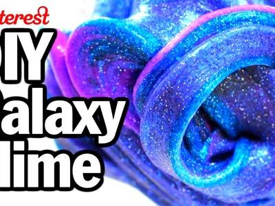 DIY Galaxy Slime - Man Vs. Pin - Pinterest Test #40