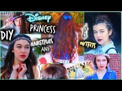 DIY Hairstyles and Outfit Ideas: Disney Princess Inspired!