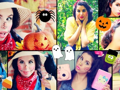DIY Last Minute Halloween Costume Ideas! | Quick & Easy!