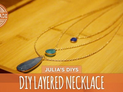 DIY Layered Necklace - HGTV Handmade