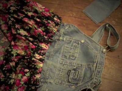 DIY OVERALL FLORAL DRESS - KPandNIKKI