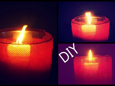 DIY : Romantic Candle Home Decor