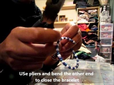 D.I.Y. Seed Bead Bracelet + Bonus Tutorial