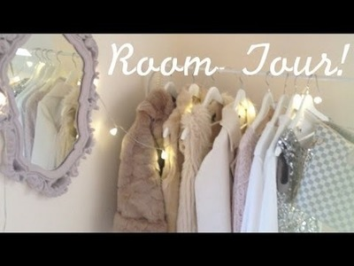 DIY: Teen girly bedroom interior inspiration (Room Tour)