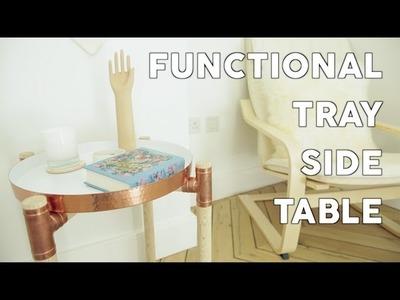 DIY: Tray Side Table