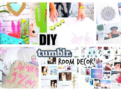 DIY Tumblr. Pinterest Inspired Room Decor! ♡ YOU NEED TO TRY!