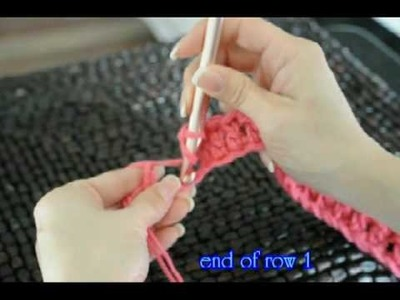 "Double Crochet ""In The Dog House "" Pet Bed #2"
