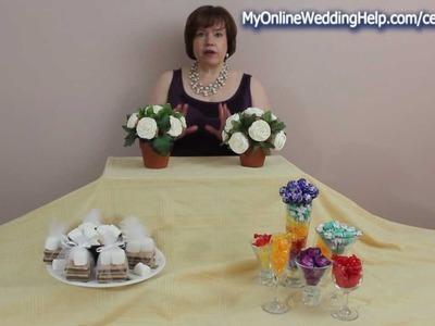 Edible Wedding Centerpiece Ideas