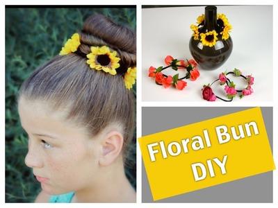 Floral Bun DIY