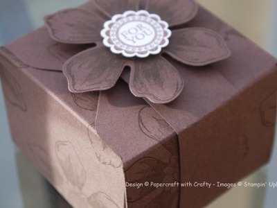 Gift Box Punch Board meets Envelope Punch Board Chocolate Box