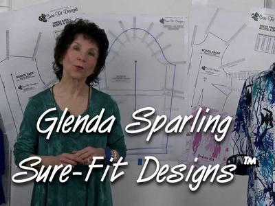 How to Draw the Sleeve Cap - Bodice Pattern