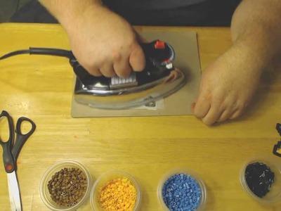 How to iron Perler Bead: Black Mage Tutorial