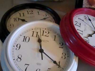 How to make a Wall Clock - Video 1