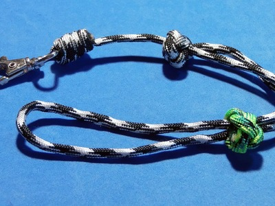 How to make. tie adjustable wrist Paracord lanyard ( Tutorial. Guide )