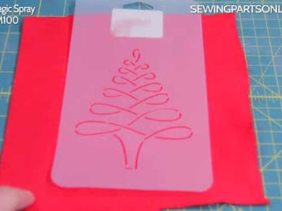 How To Transfer Stencils ( fabric and paper crafts)