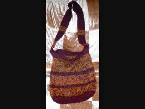 Knit then Felt a Tote or Purse or Market Bag