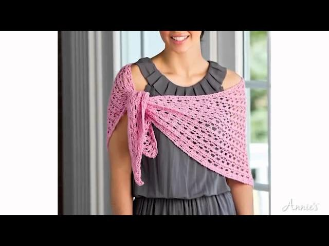 Learn How to Tunisian Crochet Cables and Lace with Annie's Online Classes
