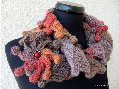 Lyubava Crochet Pattern 88 Scarf
