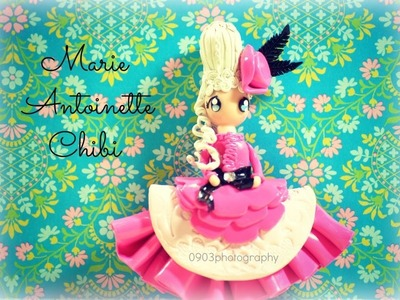 Marie Antoinette Chibi Tutorial