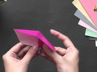 Origami - Make an Easy Bookmark