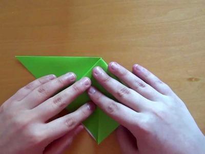 Origami Tsuru (Crane) Traditional - Tutorial