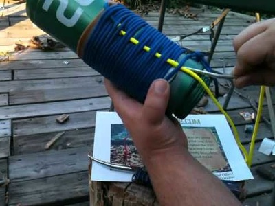 Paracord how to DIY pouch koozie Stormdrane part 2