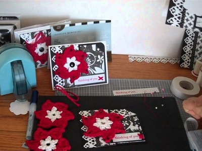 Thinking of You - Crochet Flower Card