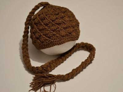 Tutorial Prosta czapka na szydełku na wiosnę - easy cap crochet spring
