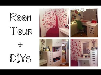 Updated ROOM TOUR + DIY Ideas! -HowToByJordan
