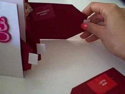 Valentine Mini Love Scrapbook