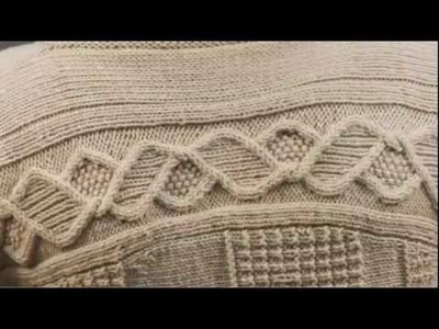 #17 Cable Cardigan, Vogue Knitting Holiday 2009