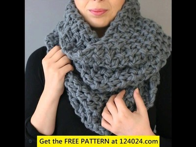 Crochet a scarf for beginners step by step