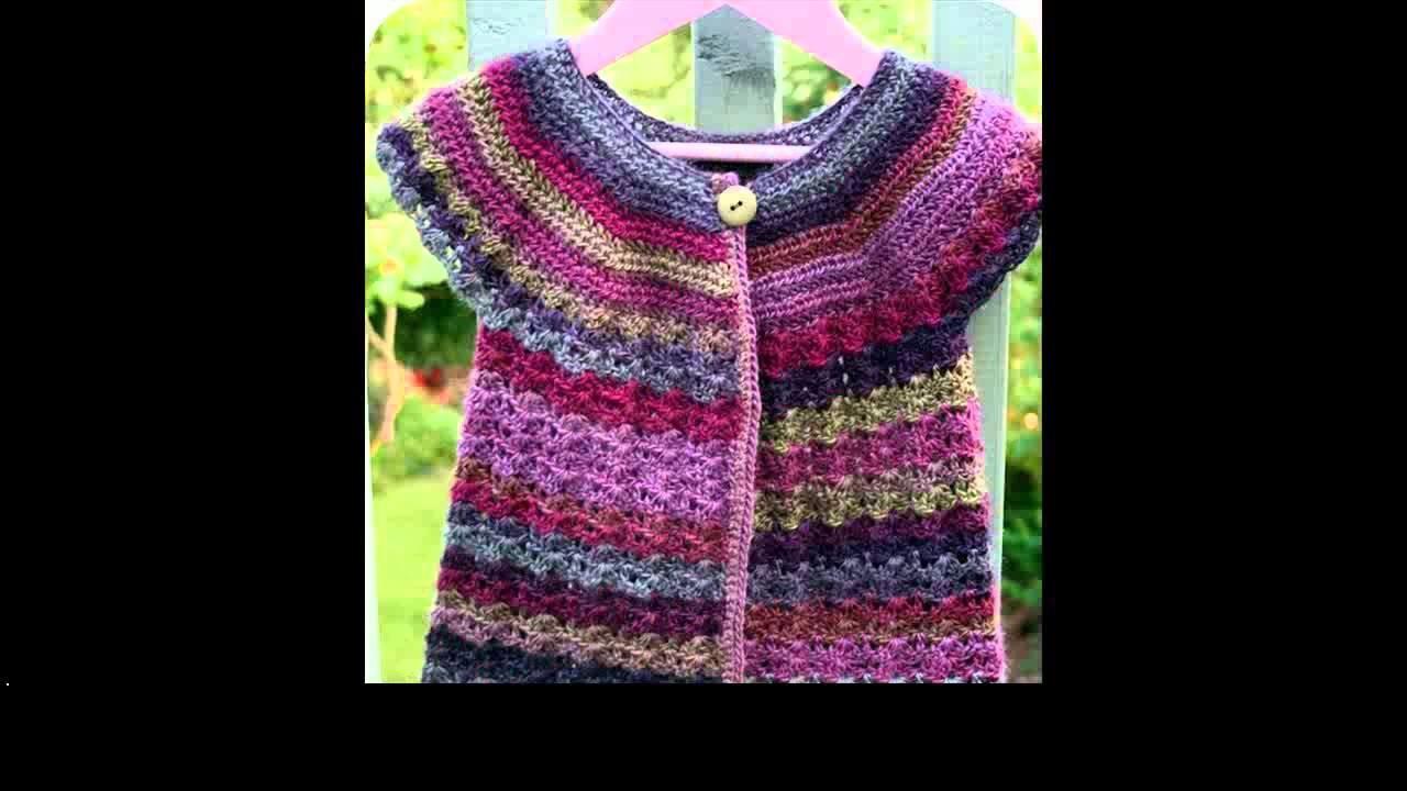 Crochet baby sweater pattern