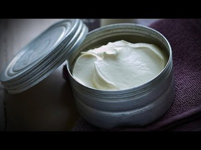 DIY Beauty Balm For Split Ends and Dry Skin