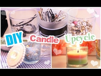 DIY Candle Upcycling Ideas!
