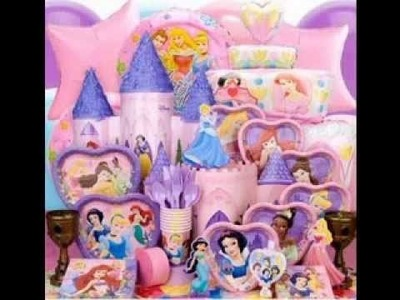 DIY Disney princess birthday party decorations ideas