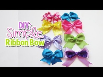 DIY: Easy Simple Bow