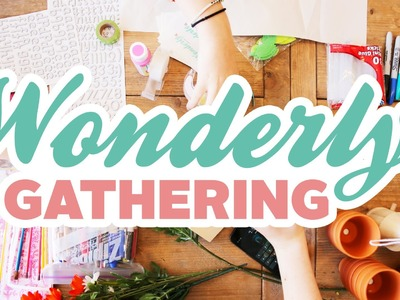 DIY Flowerpots & YouTube Charades: San Francisco Wonderly Gathering Recap!