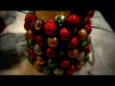 DIY - Homemade Christmas Tree - Decor!