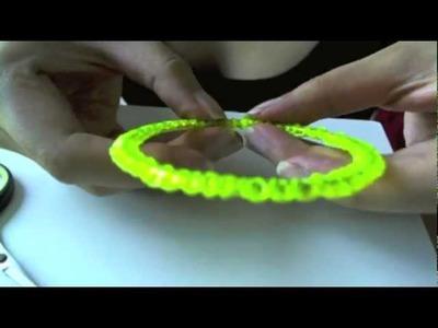 Diy: neon bracelet