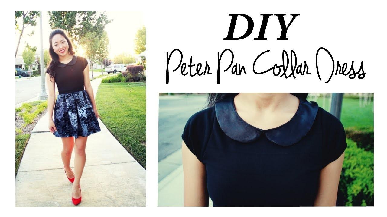 DIY Peter Pan Collar Dress