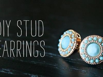 DIY: Stud Earrings
